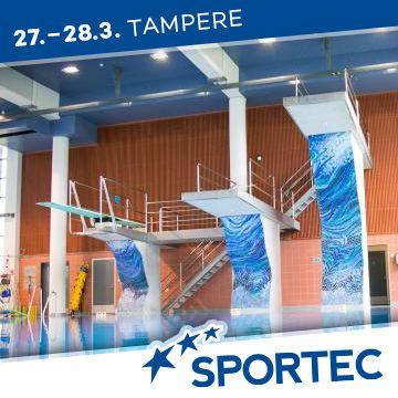 Liikuntapaikka Sportec -messujen ohjelma Uimahalliforum