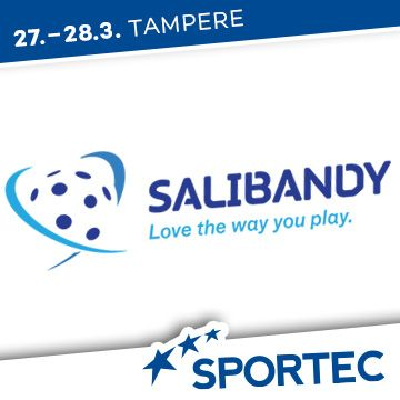 Liikuntapaikka Sportec -messujen ohjelma Salibandyliitto