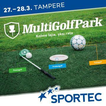 Liikuntapaikka Sportec -messujen ohjelma MultiGolfPark