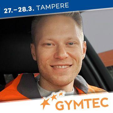 Liikuntapaikka Gymtec -messujen puhuja Aki Illikainen