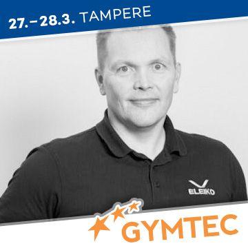 Liikuntapaikka Gymtec -messujen puhuja Marko Rantamäki