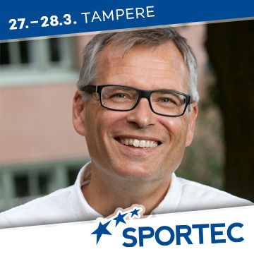Liikuntapaikka Sportec -messujen puhuja Ilkka Kartio