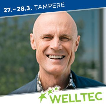 Liikuntapaikka Welltec -messujen puhuja Phillip Mills