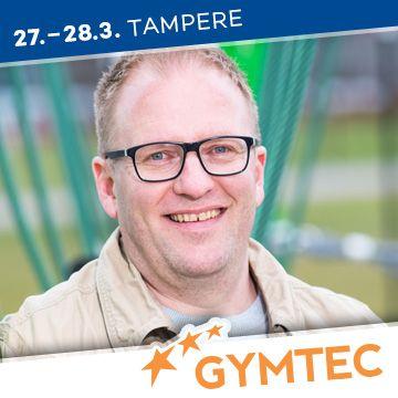 Liikuntapaikka Gymtec -messujen puhuja Mikko Lahtinen